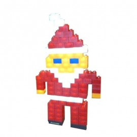 Klocki LIGHT STAX Santa...